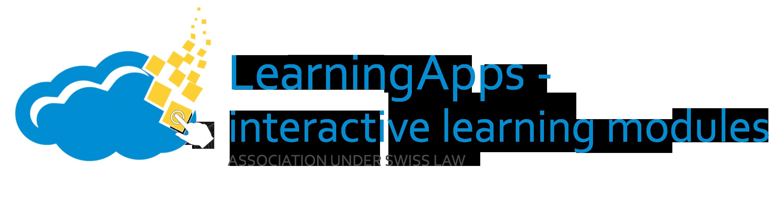 Verein: LearningApps - interaktive Bausteine